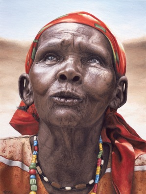 """""""Gogo"""" 18x24"""" Limited Edition Giclee Prints available. Copyright Holly Kavonic"""